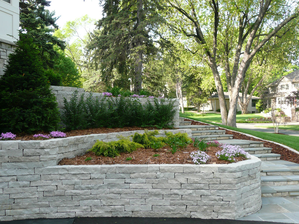 Retaining Walls Block Retaining Walls Chaska Victoria